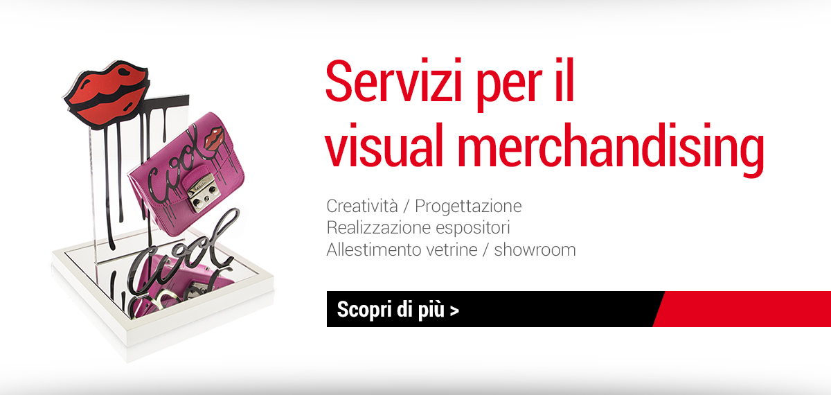 Servizi per il visual merchandising