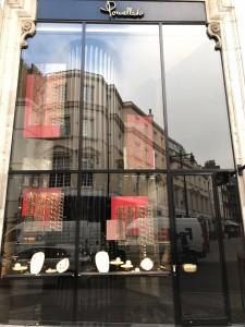 Vetrina Pomellato Londra