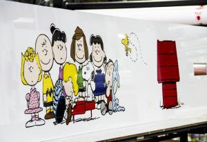 Pannello cucina personalizzato - Peanuts
