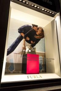 Allestimento vetrine Rinascente Firenze - Dettaglio vetrina
